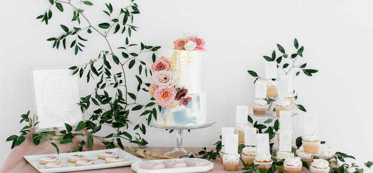 Romantic & Modern Wedding Inspo with the Sweetest Seating Chart
