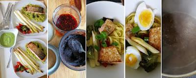 Zubereitung Schnelle Nudel-Miso-Bowl, japanisch inspiriert