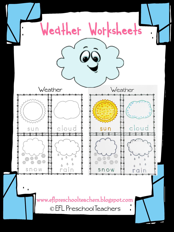 esl efl preschool teachers weather theme resources for the ell. Black Bedroom Furniture Sets. Home Design Ideas