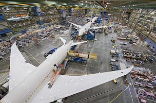 Proses MRO Pesawat Boeing