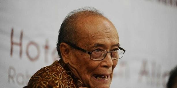 Kesenjangan Makin Tinggi, Pendukung Jokowi, Syafi'i Ma'arif  Cemas Prahara 98 Bakal Terulang