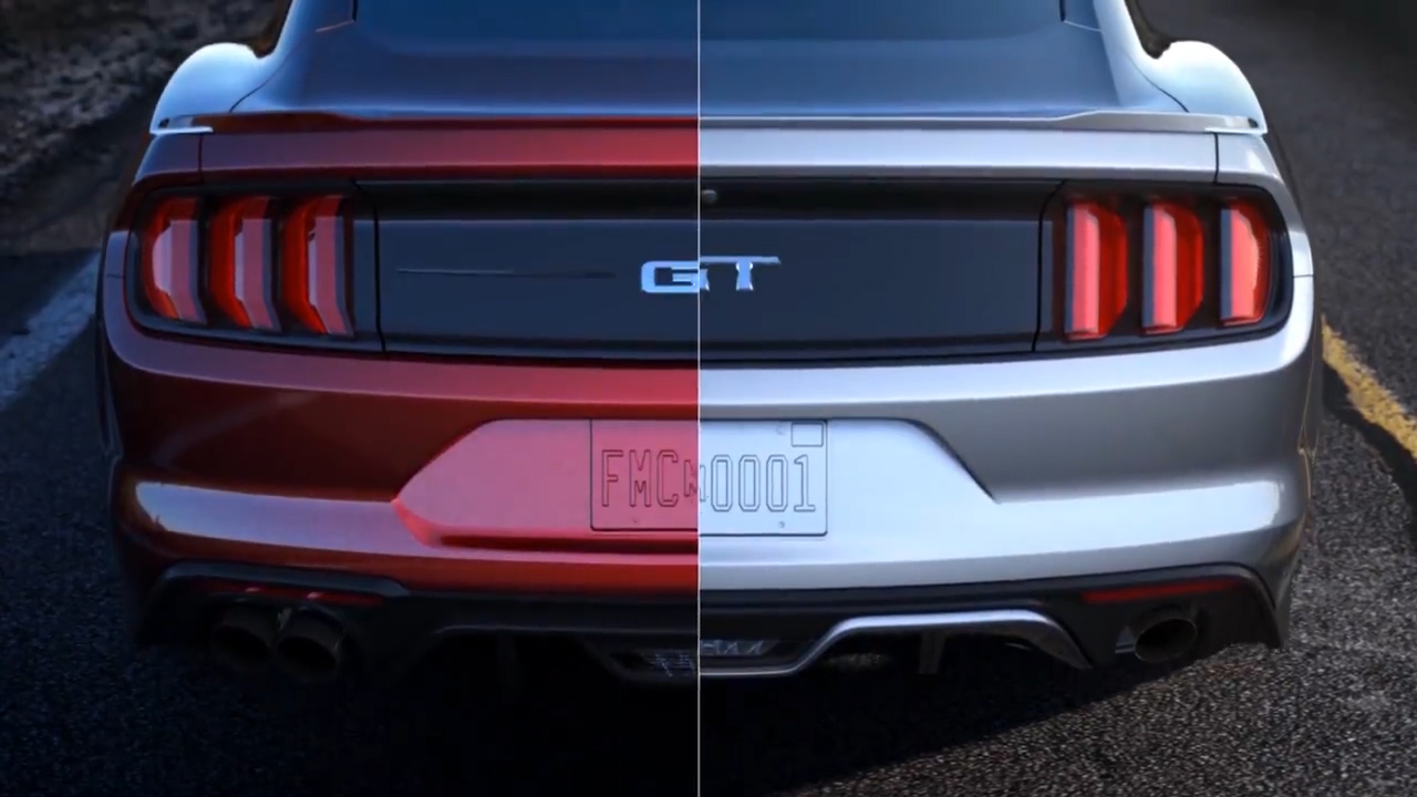 2018 Vs 2017 Ford Mustang Poll Amp Photo Comparison Carscoops