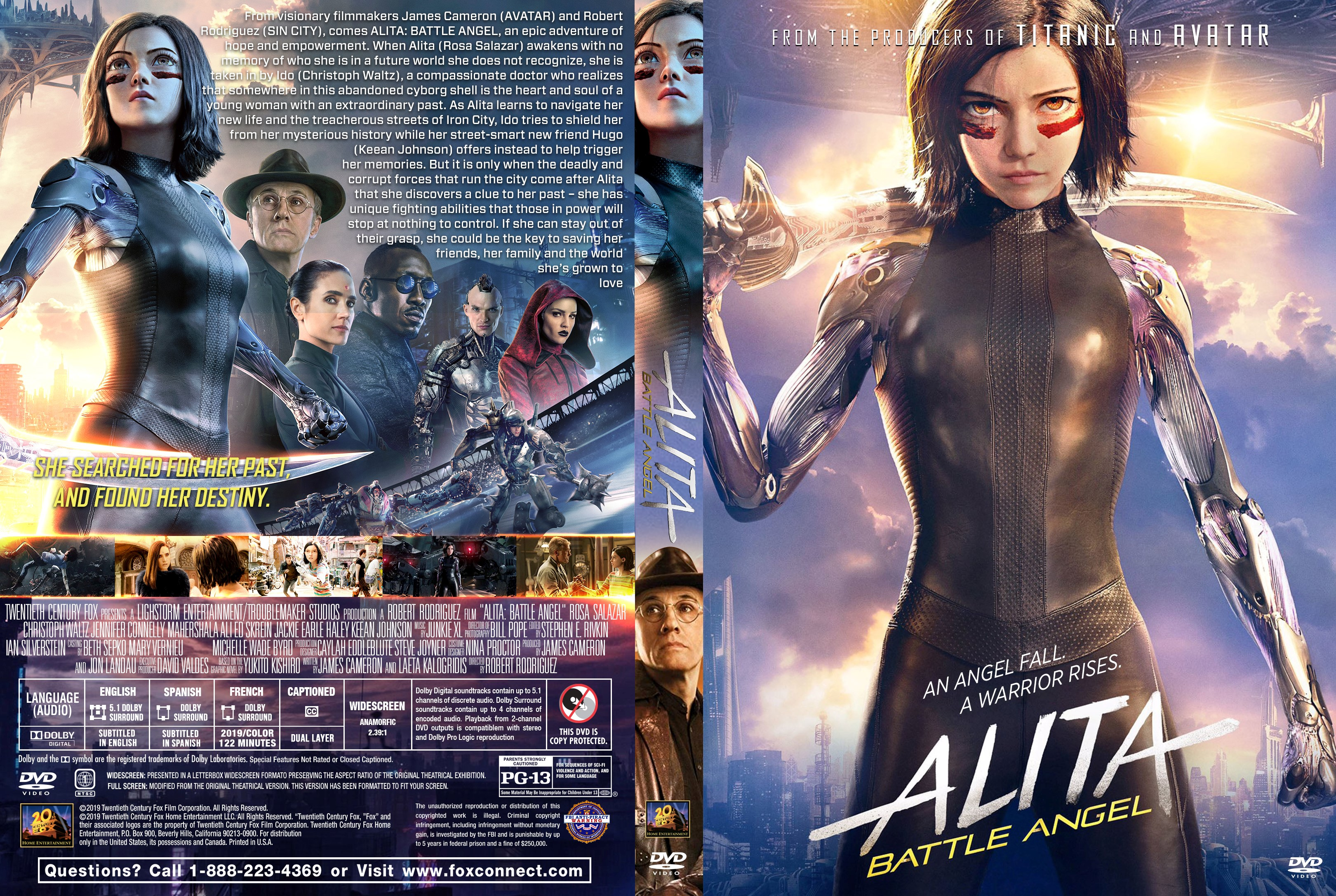 Alita Battle Angel Dvd Cover Cover Addict Free Dvd Bluray Covers And Movie Posters