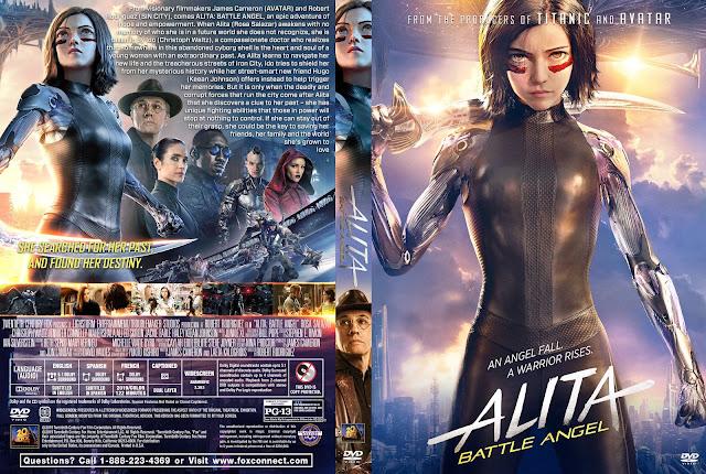 Alita: Battle Angel DVD DVD Cover
