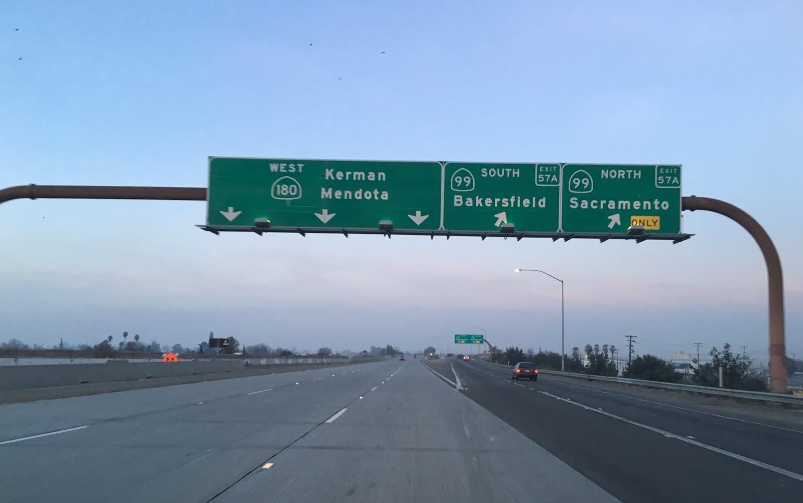 Highway 99 Sacramento
