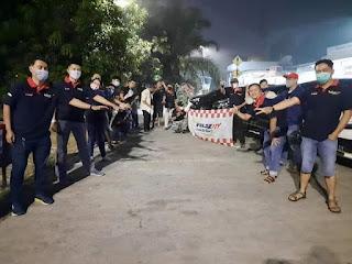 Melepas rindu dimasa pandemi, Velozity Chapter De'Bogor Gelar touring ke saung Angklung Udjo