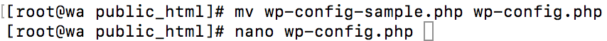 Install WP VestaCP