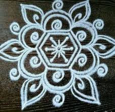 Easy Rangoli Design :