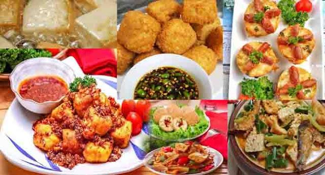 8 Resep Masakan Tahu Praktis dan Murah