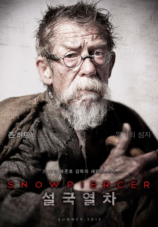 Snowpiercer - John Hurt | A Constantly Racing Mind