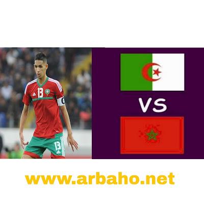 الجزائر ضد المغرب في التصفيات المؤهلة لنهائيات كأس إفريقيا للاعبين المحليين