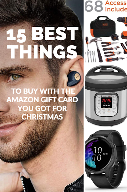 15 best things to buy with the Amazon gift card you got for Christmas