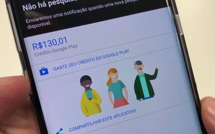 VAZOU! Como Ganhar Créditos na Google Play Store Fácil - 2019