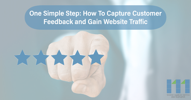 One Simple Step: How To Capture Customer Feedback and Gain Website Traffic