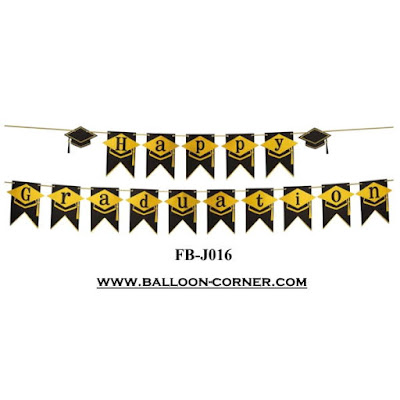 Bunting Flag Segilima HAPPY GRADUATION FB-J016