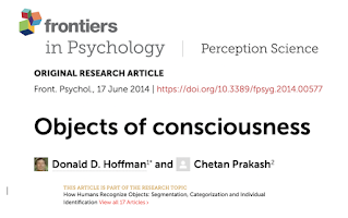title-Objects of consciousness, Frontiers in Psychology