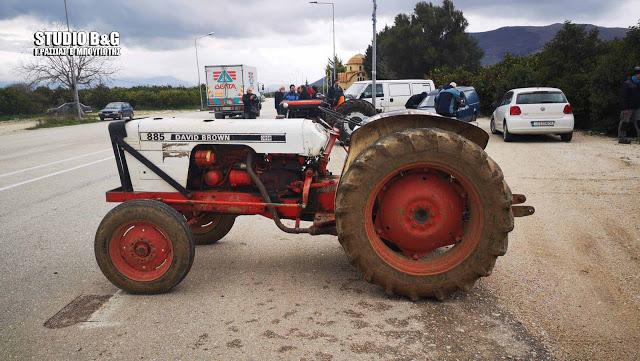 Πότε κλείνουν το δρόμο οι αγρότες της Αργολίδας στο μπλόκο του Ανυφίου