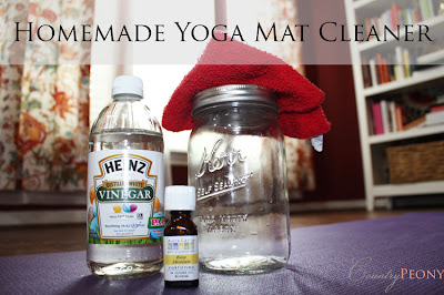 Country Peony Homemade Yoga Mat Cleaner