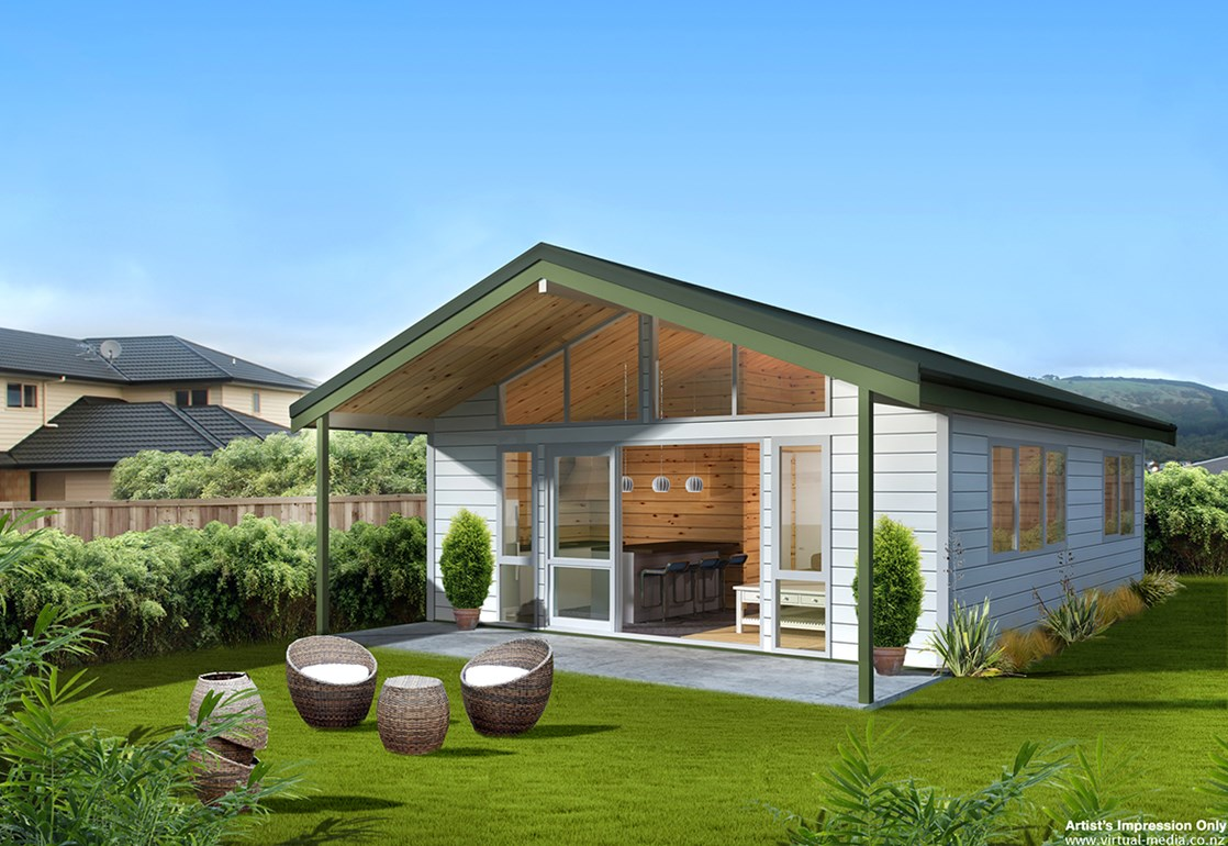 New Zealand-inspired 2 Bedroom House Design You Can Re-Create in the ...