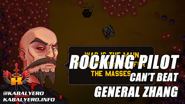 Rocking Pilot Gameplay, Can't Beat General Zhang, Hu Hu Hu