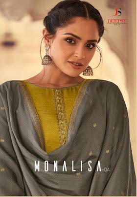 Deepsy Monalisa vol 4 salwar Kameez catalog wholesaler