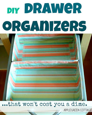 DIY zero-cost drawer organizer