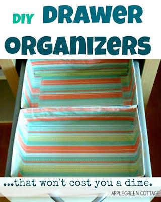 DIY zero-cost drawer organizer