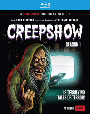 Cover art for AMC's Blu-ray release of CREEPSHOW: THE SERIES - SEASON 1!