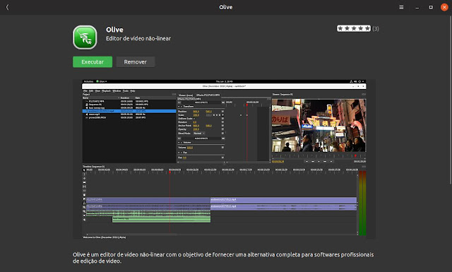 download editor olive para linux