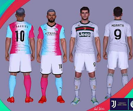 PES 2017 Juventus x Gucci & Man City Winner Contest Kits