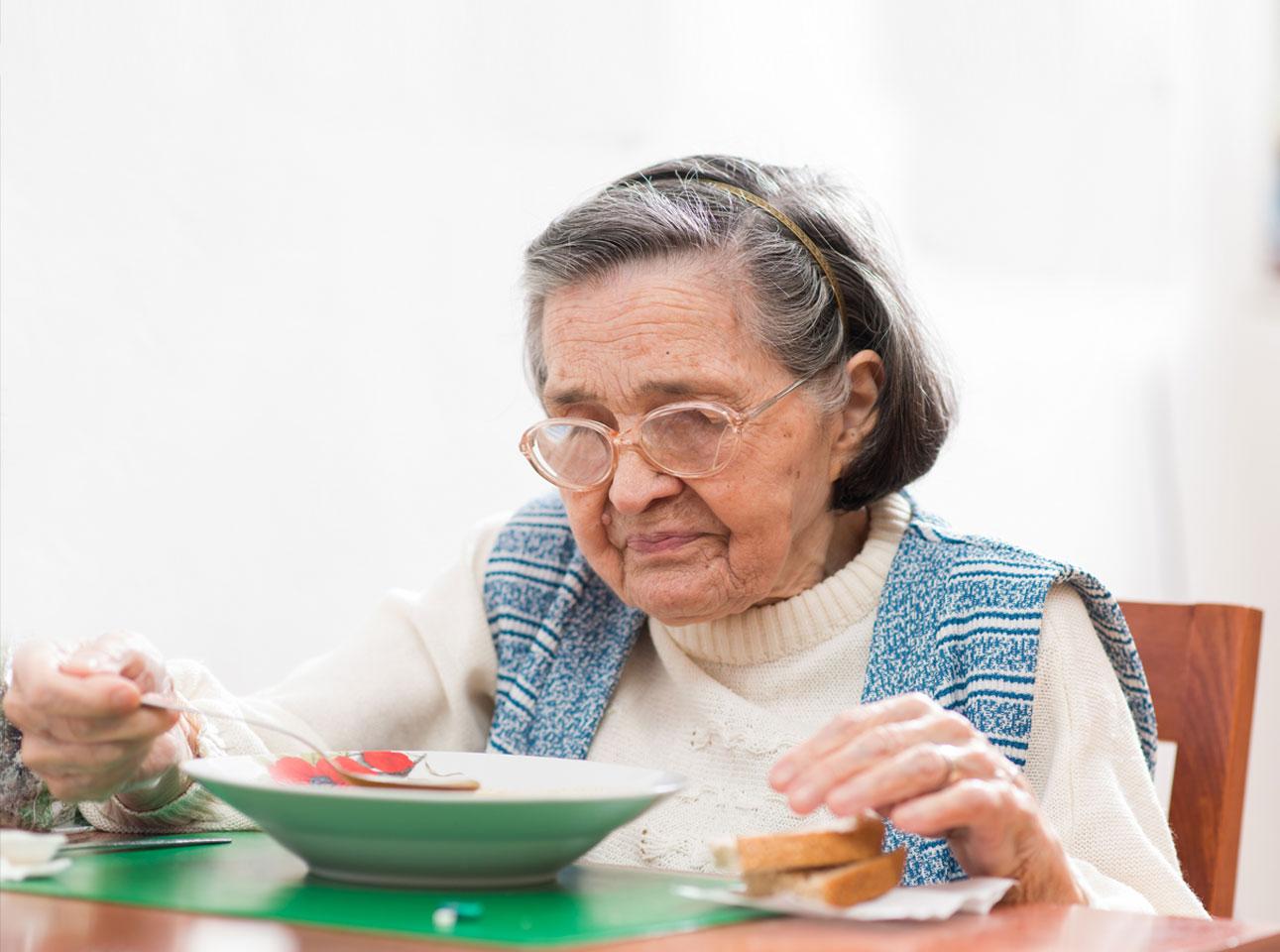 gestionarea pierderii în greutate la vârstnici