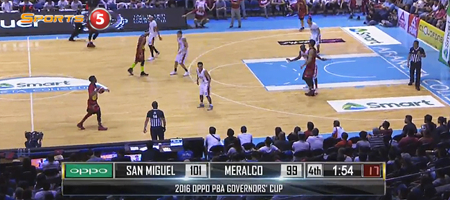 San Miguel def. Meralco, 110-106 (REPLAY VIDEO) August 31