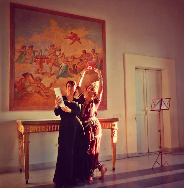 Danza Odissi Roma Maria Luisa Sales Neriene