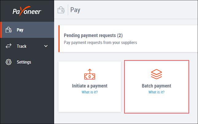 تحديث جديد من شركة البايونير بخصوص أرسل حزمة دفعات متعددة في وقت واحد