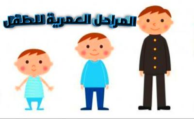 كيفية التعامل مع المراحل العمرية للطفل