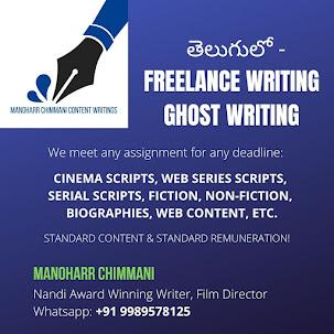 FREELANCE WRITING, GHOST WRITING