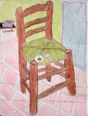 Van Gogh's Chair - Ariadna S.