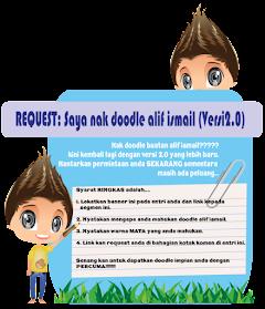 REQUEST: Saya nak doodle alif ismail (Versi 2.0)