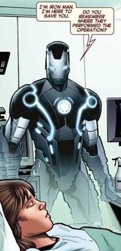 Armadura Marvel Now