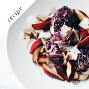 Seared radicchio salad recipe | Lily