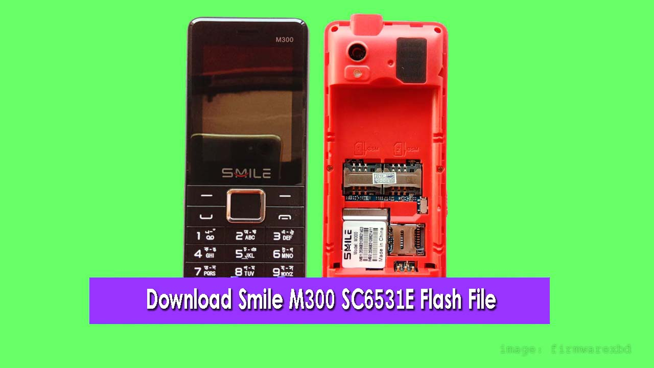 smile m300 flash file