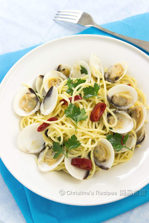 香草蜆意粉 Spaghetti with Clams01