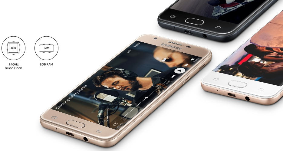 samsung galaxy j5 prime processor