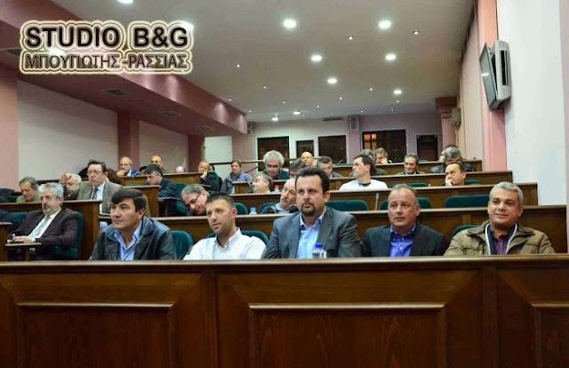 28 θέματα στο Δημοτικό Συμβούλιο στο Άργος