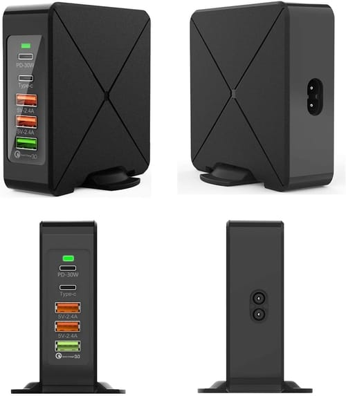 Wyness PD-75W 5 Port USB Charging Station