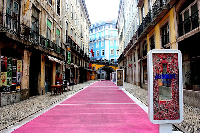 Rua Cor-de-Rosa no Cais do Sodré