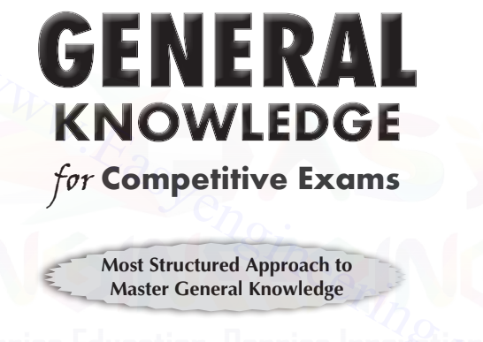 General Knowledge for Competitive Exams by Disha Experts Download PDF