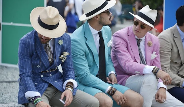tông màu pastel trong thời trang nam