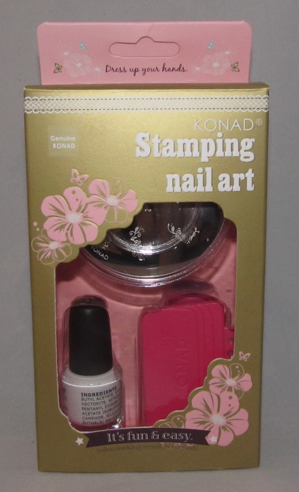 Konad Basic Stamping Kit Review