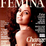 Esha Gupta Top Less on the Femina Issue